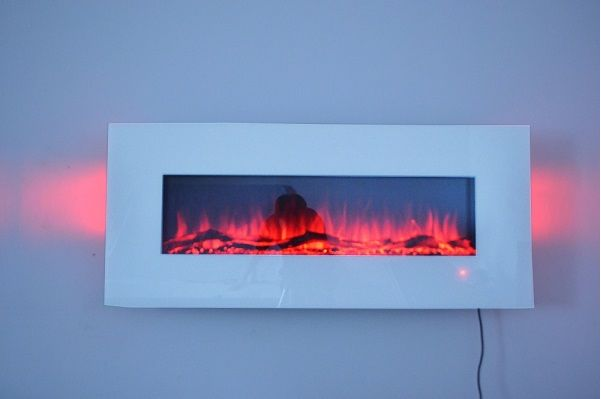 White Wall Mounted Fire: 2016 NEW PREMIUM PRODUCT 50inch White Wall Mounted