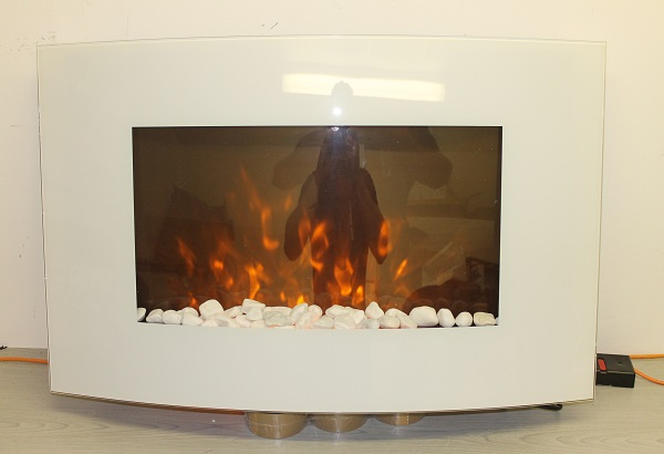 2016 New Truflame Wall Mounted Arched Glass Electric Fire