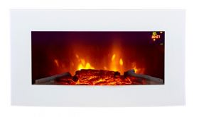 New LED menu options for truflame wall hung fire