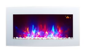 New electric fire LED menu