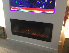 Inset TruFlame Wall Mounted Electric Fire