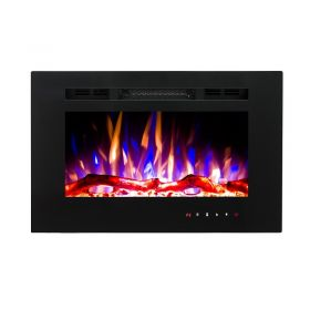 26inch Inset Wall Mounted Electric Fires